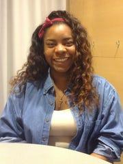 Melanie Horton, 22, an Iowa State University student