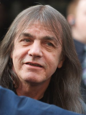 AC/DC band member Malcolm Young attends the Exclusive World Premiere Of AC/DC 'Live At River Plate' on May 6, 2011 in London.