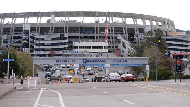 A group wants to use the Qualcomm Stadium site to build a new soccer-specific stadium for a potential MLS expansion team.