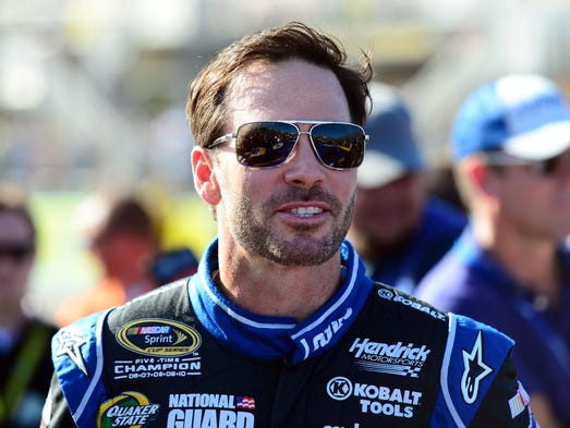 Seven-time NASCAR champion Jimmie Johnson, born Sept. 17, 1975, made his Sprint Cup debut in 2001. He became a full-time Cup driver in 2002.