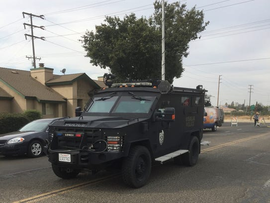 SWAT in Tulare