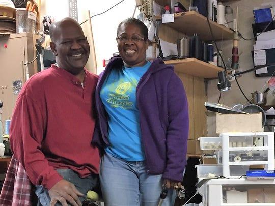 Melvin and Valerie Allen run Allen's Custom Upholstery