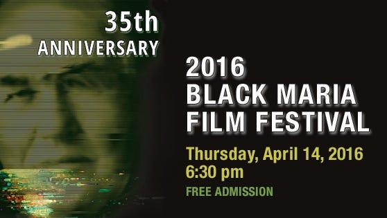 Black Maria Film Festival banner.