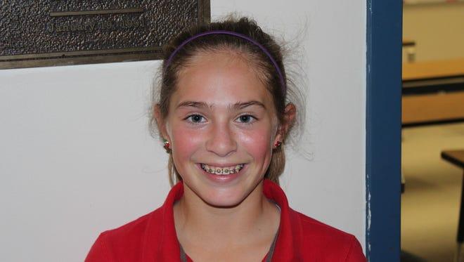 Carolina Day rising freshman Rachel Kuehn.