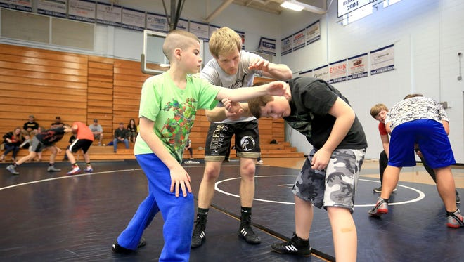 Daniel Ownbey taught a youth clinic at Enka last spring.