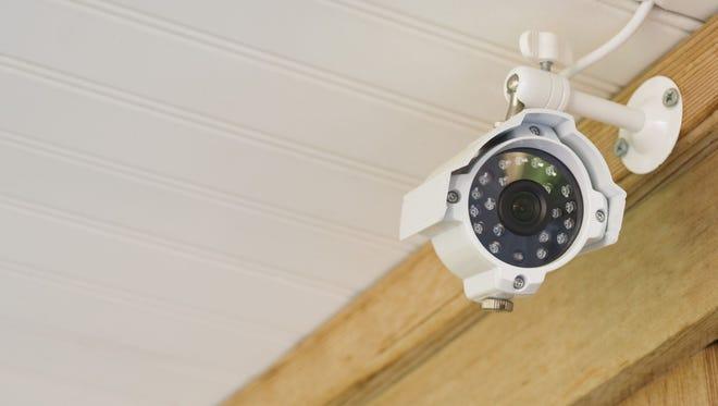 Illustration: Surveillance camera.
