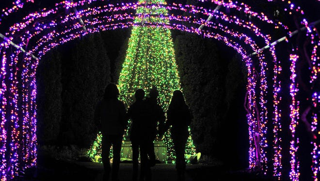 """This is the last weekend to see """"Holiday Lights"""" at Cheekwood."""