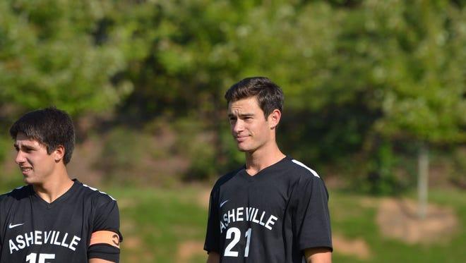 Asheville High's Will Jones (21).