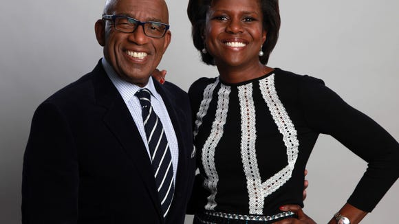 Al Roker will serve on the search committee for a new SUNY chancellor. He's pictured here with his wife, Deborah Roberts.