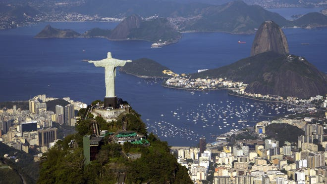 The Summer Olympics start with Opening Ceremonies Friday night in Rio de Janeiro, Brazil, a city of stark contrasts.