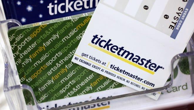 Ticketmaster tickets