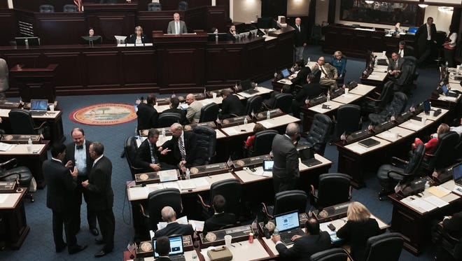 The Florida House of Representatives meets. House Bill 17 is sponsored by South Brevard Rep. Randy Fine.
