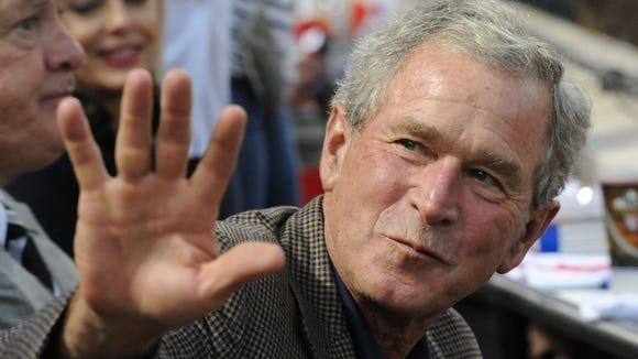 Former President George W. Bush will attend a fundraiser in Jackson on Friday for Sen. Roger Wicker.