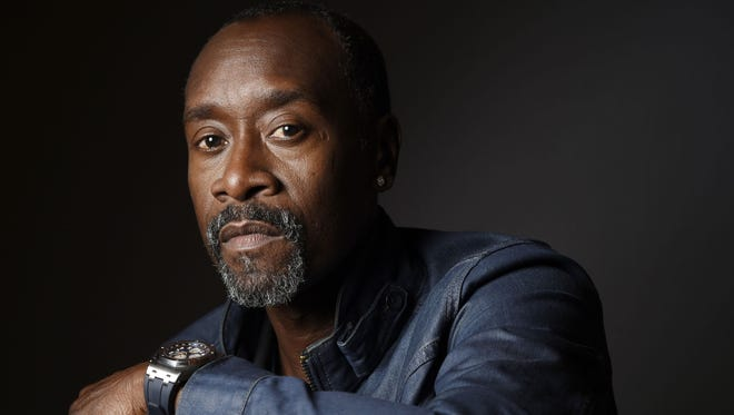 Actor Don Cheadle will be playing in the upcoming BMW Charity Pro-Am golf tournament.