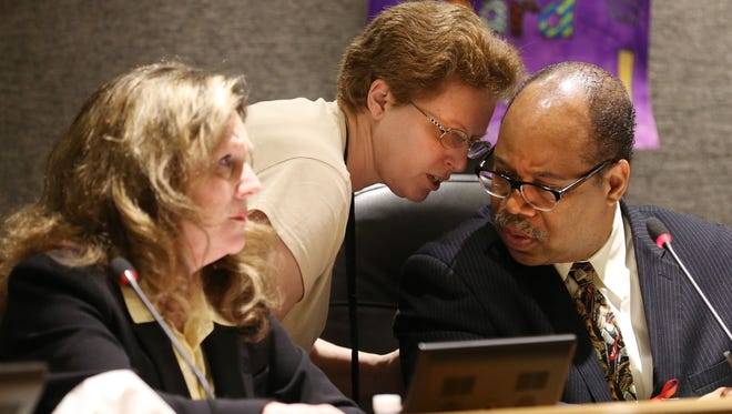 The RCSD Board of Education approve a new spending plan on Tuesday.