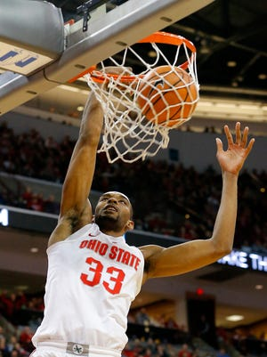 Another two for Ohio State Buckeyes forward Keita Bates-Diop.