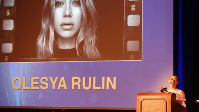 High School Musical's Olesya Rulin.