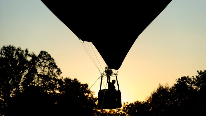 The first Townsend Balloon Festival was held in Townsend, Tennessee, on Aug. 19, 2017. Thousands of visitors flocked to this small town outside of the Smoky Mountains to view six hot air balloons rise into the air. The events returns this year on Saturday.