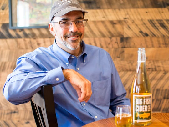 Kirk Billingsley, a Highland County native, has been making apple cider for nearly two decades. In late 2015 he launched his own small, commercial cidery, Big Fish Cider Co., in Monterey, and last weekend, four of his ciders took home medals in international competition.
