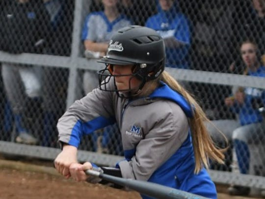 Taylor Ebbs, McNary softball