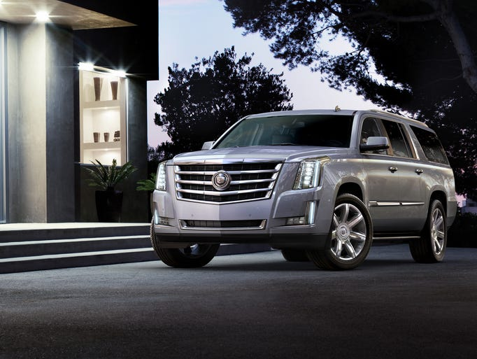 2015 Cadillac Escalade is all new with a more sophisticated appearance