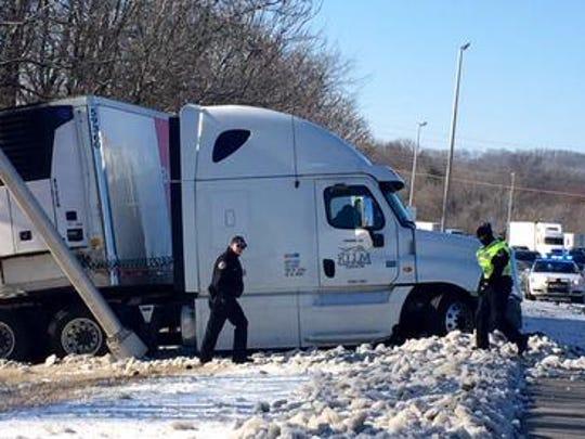 Accident on I65