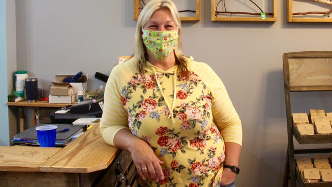 Stacey Lamberts opened her artisan boutique Full Circle Creations last month in downtown Zeeland.