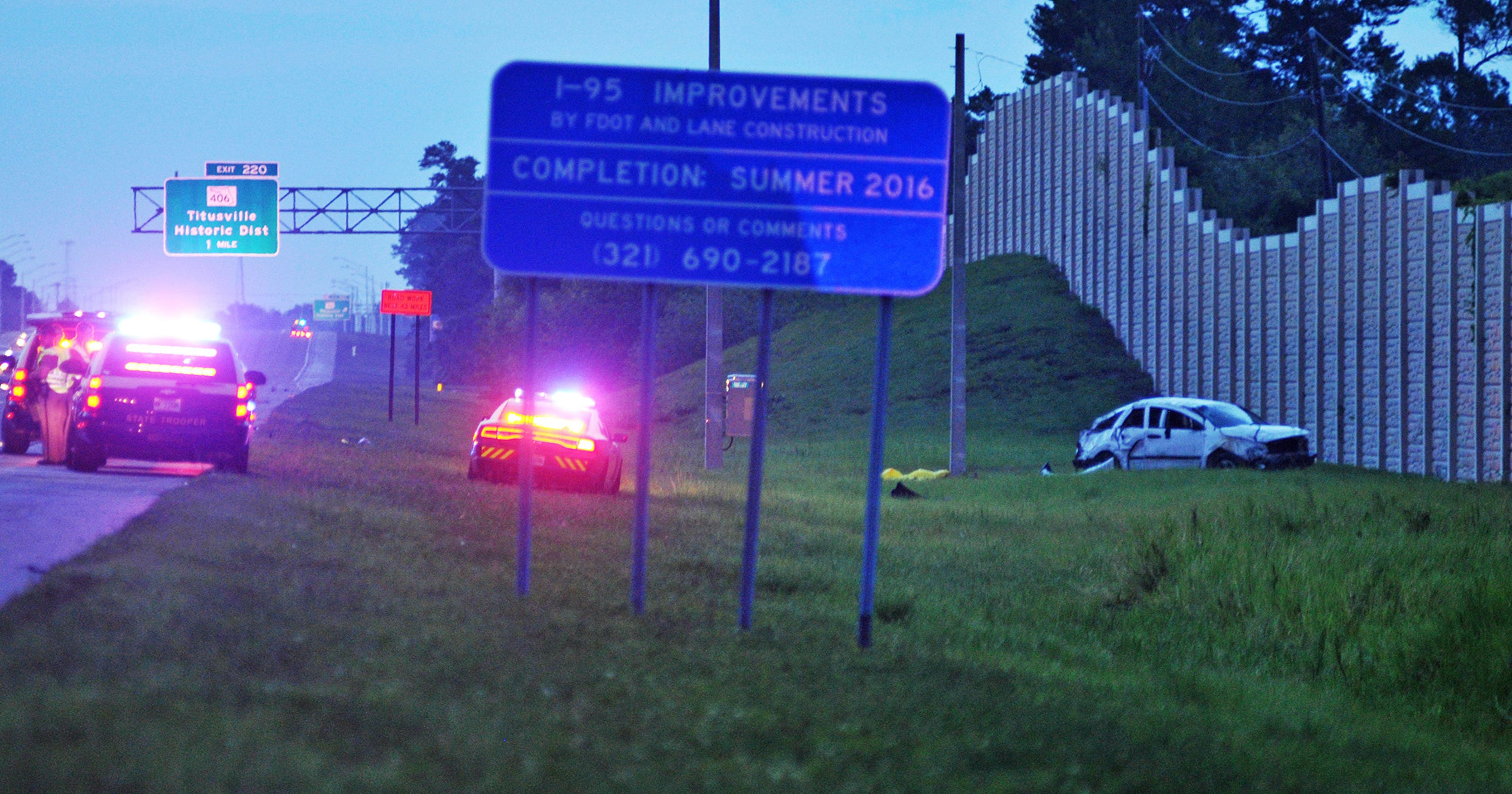 Four children dead after crash near Titusville