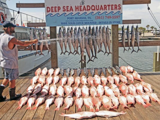 27 limits of red snapper