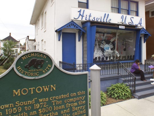 The Motown Museum is in the house that made Motown