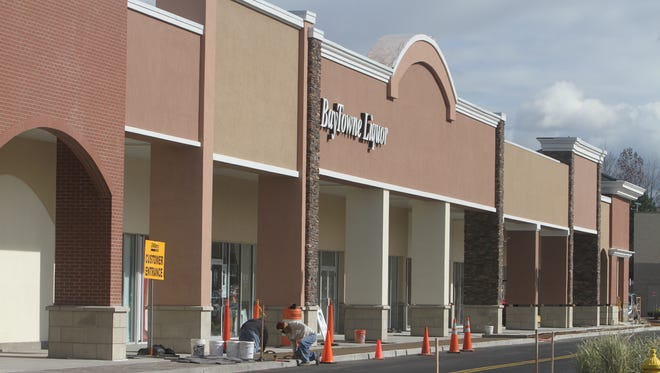 BayTowne has been working on a new shopping complex.
