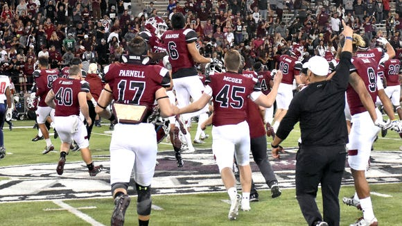 NMSU will host five games at Aggie Memorial Stadium for the 2018 season.