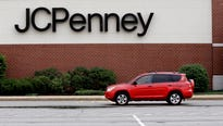 J.C. Penney emerged from the crucible of the holiday shopping season with a sales increase, providing a ray of hope for department stores.
