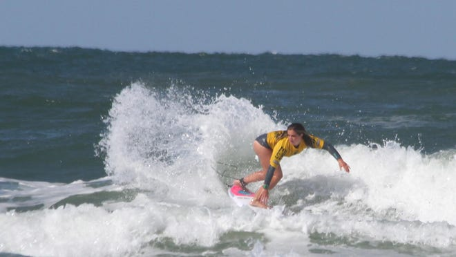 Caroline Marks won four division titles during the annual NSSA East Coast Championships held in New Smyrna Beach last weekend.