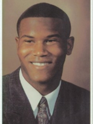 Ron Johnson's 1998 senior photo from York Catholic
