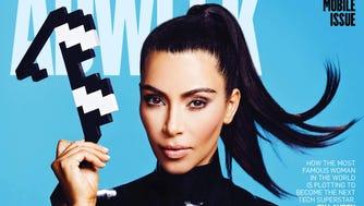 Kim Kardashian covers AdWeek.