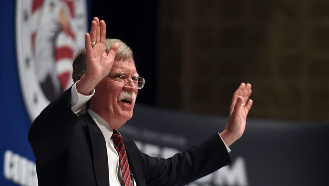 Incoming national security adviser John Bolton in 2015.