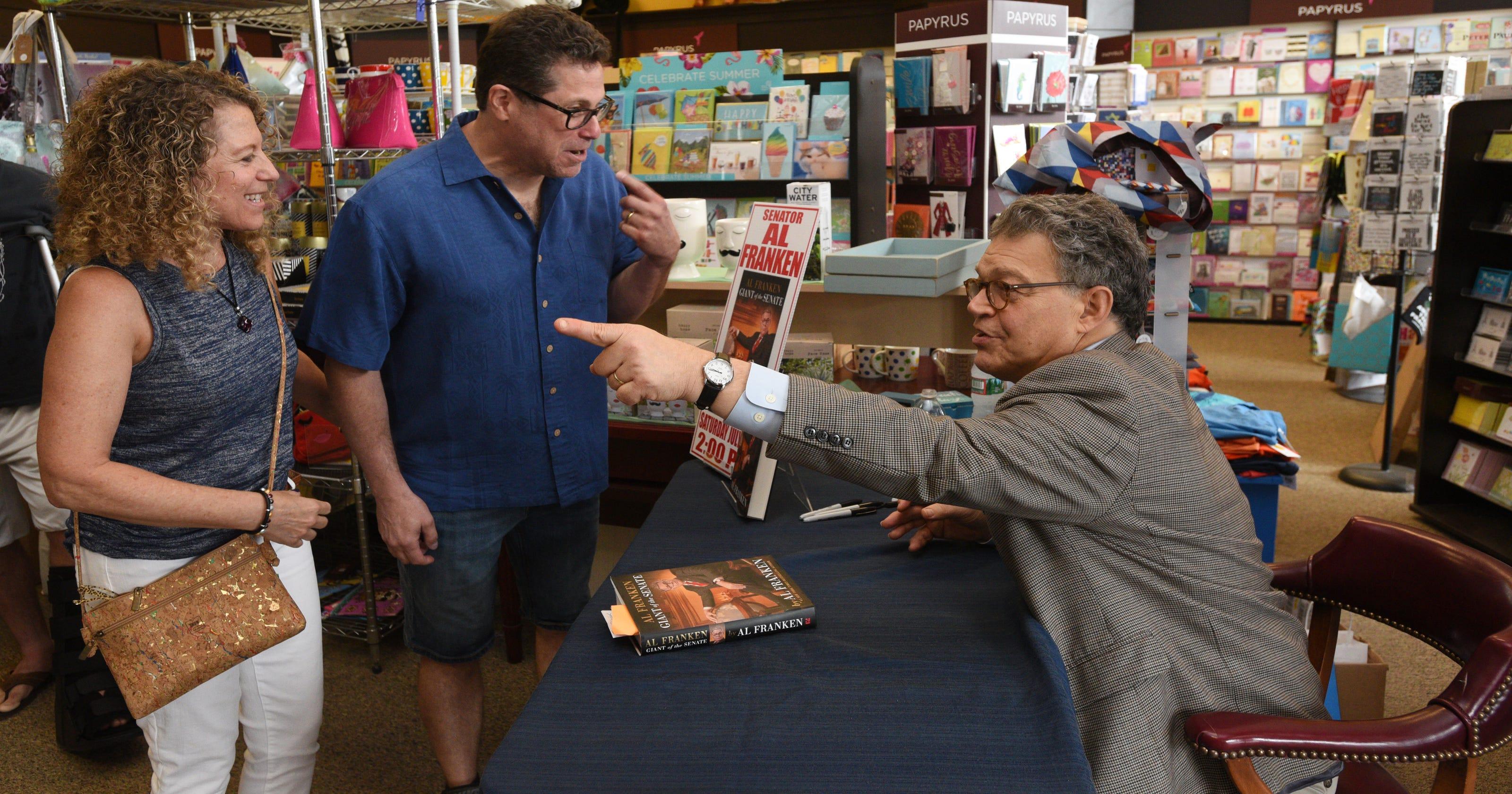 Sen Al Franken Shuts The Book On Gop