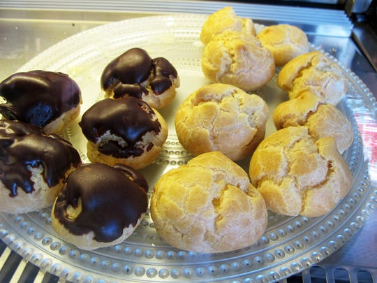 Dessert options include cream puffs, cannoli and cheesecake at Palumbo's Pizzeria, which recently opened a second location at 7711 Collier Blvd. in Lely Resort's Stock Plaza in East Naples.