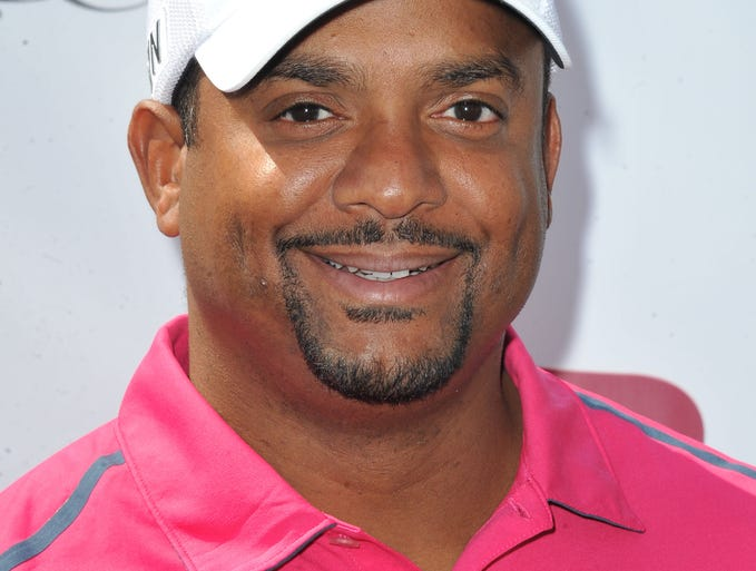 "Actor Alfonso Ribeiro of ""The Fresh Prince of Bel-Air"" fame."