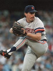 Jack Morris with the Detroit Tigers in 1988.