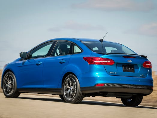 Ford says the Focus is the world's best selling car