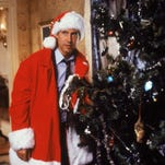 Chevy Chase in a scene from the motion picture National Lampoon's Christmas Vacation.