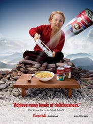 Campbell Soup ad