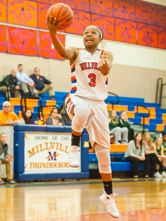 Millville girls basketball gets first playoff win since 2014