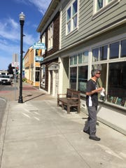 Downtown Fort Bragg, Calif. is a mix of shops, restaurants,  and small offices.