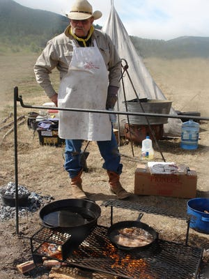 Cooking is a relative ability when it comes to the cowboy in the kitchen.