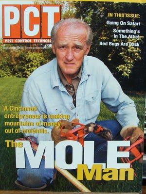 Cincinnati's Tom Schmidt is The Mole Man