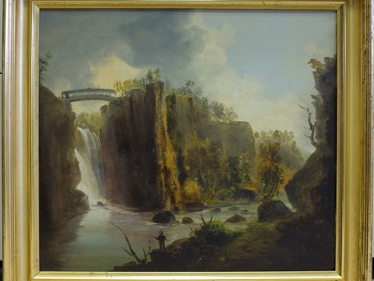 A photo of the missing painting.