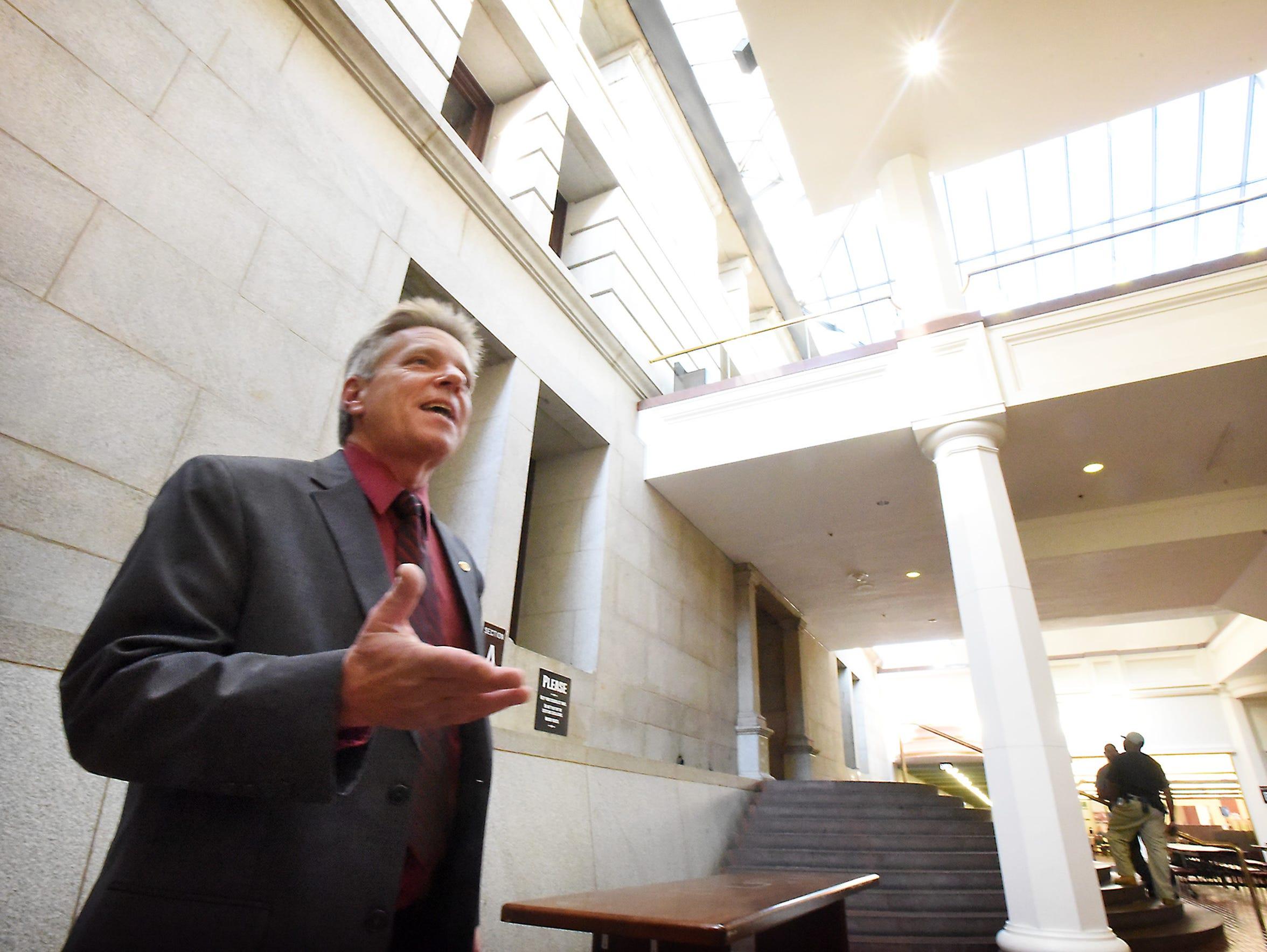 Pennsylvania State Representative Russ Diamond serves